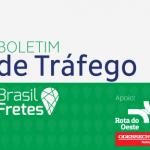 Boletim de Tráfego da Brasil Fretes – 14/06/2016